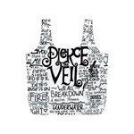 Pierce The Veil Music Band Group Fabric Art Cloth Poster Full Print Recycle Bags (S)  Back