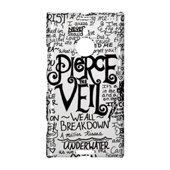 Pierce The Veil Music Band Group Fabric Art Cloth Poster Nokia Lumia 1520