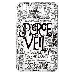 Pierce The Veil Music Band Group Fabric Art Cloth Poster Samsung Galaxy Tab Pro 8 4 Hardshell Case