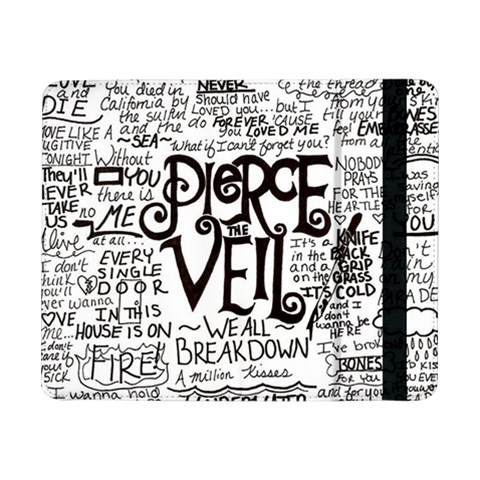 Pierce The Veil Music Band Group Fabric Art Cloth Poster Samsung Galaxy Tab Pro 8.4  Flip Case