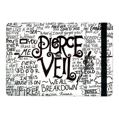 Pierce The Veil Music Band Group Fabric Art Cloth Poster Samsung Galaxy Tab Pro 10.1  Flip Case