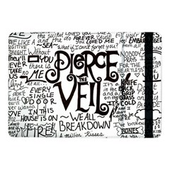 Pierce The Veil Music Band Group Fabric Art Cloth Poster Samsung Galaxy Tab Pro 10 1  Flip Case