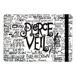 Pierce The Veil Music Band Group Fabric Art Cloth Poster Samsung Galaxy Tab Pro 10.1  Flip Case Front