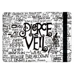 Pierce The Veil Music Band Group Fabric Art Cloth Poster Samsung Galaxy Tab Pro 12.2  Flip Case Front