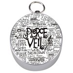 Pierce The Veil Music Band Group Fabric Art Cloth Poster Silver Compasses Front
