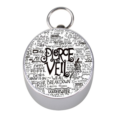 Pierce The Veil Music Band Group Fabric Art Cloth Poster Mini Silver Compasses