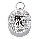 Pierce The Veil Music Band Group Fabric Art Cloth Poster Mini Silver Compasses Front