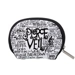 Pierce The Veil Music Band Group Fabric Art Cloth Poster Accessory Pouches (Small)  Back