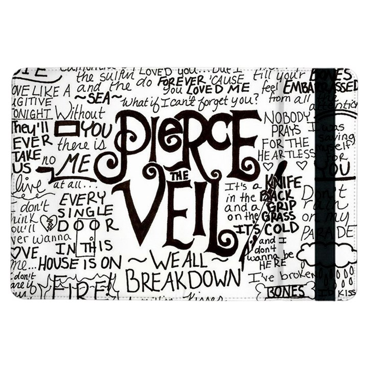 Pierce The Veil Music Band Group Fabric Art Cloth Poster iPad Air Flip
