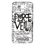 Pierce The Veil Music Band Group Fabric Art Cloth Poster Samsung Galaxy S5 Back Case (White) Front