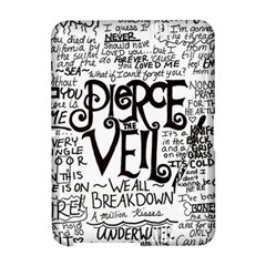 Pierce The Veil Music Band Group Fabric Art Cloth Poster Amazon Kindle Fire (2012) Hardshell Case