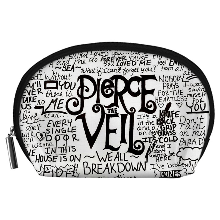 Pierce The Veil Music Band Group Fabric Art Cloth Poster Accessory Pouches (Large)