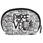 Pierce The Veil Music Band Group Fabric Art Cloth Poster Accessory Pouches (Large)  Back