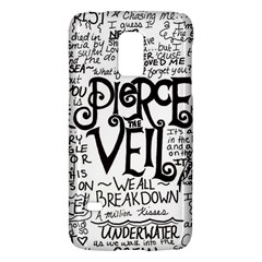 Pierce The Veil Music Band Group Fabric Art Cloth Poster Galaxy S5 Mini