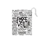 Pierce The Veil Music Band Group Fabric Art Cloth Poster Drawstring Pouches (Small)  Front