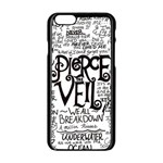Pierce The Veil Music Band Group Fabric Art Cloth Poster Apple iPhone 6/6S Black Enamel Case Front