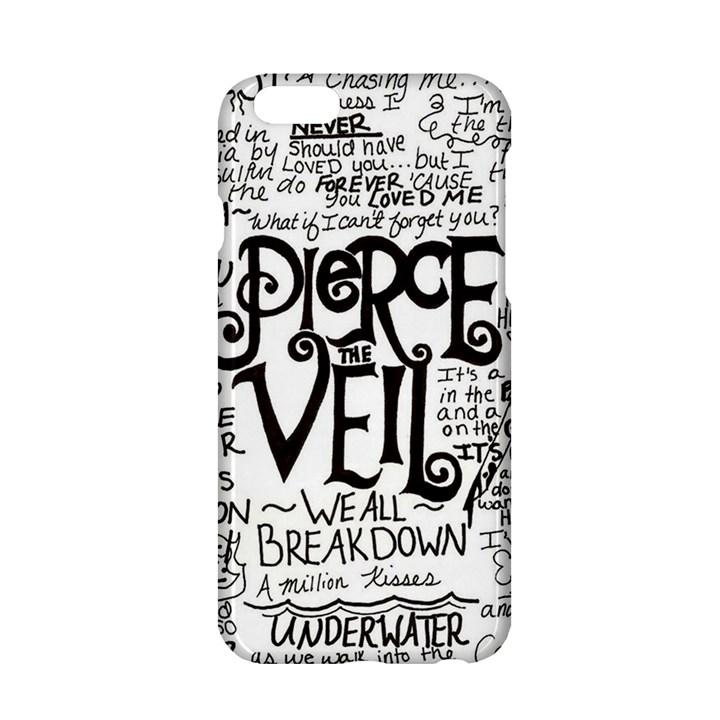 Pierce The Veil Music Band Group Fabric Art Cloth Poster Apple iPhone 6/6S Hardshell Case