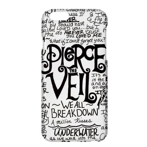 Pierce The Veil Music Band Group Fabric Art Cloth Poster Apple iPhone 6 Plus/6S Plus Hardshell Case