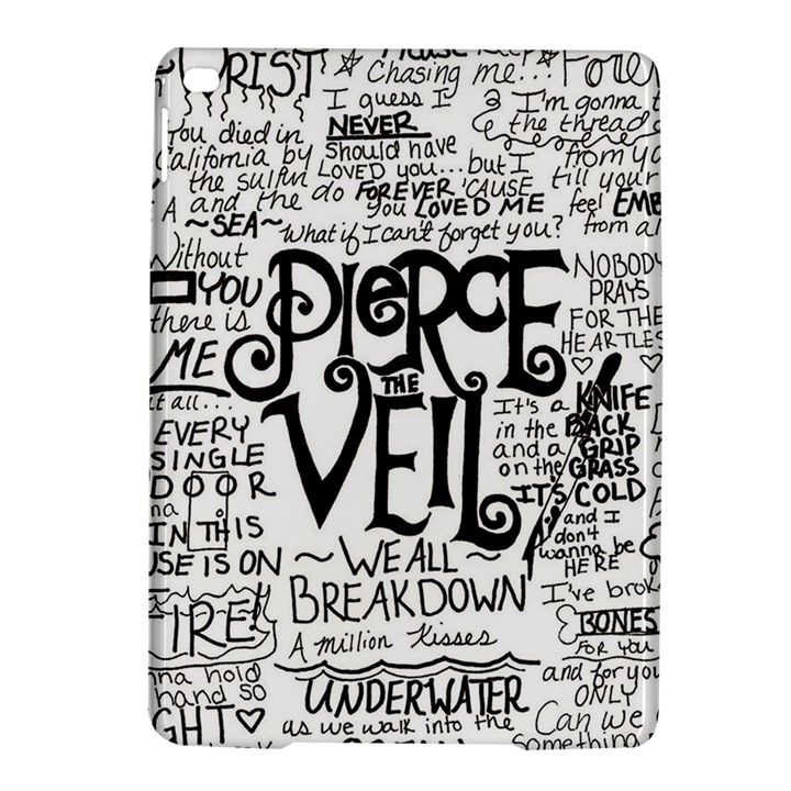 Pierce The Veil Music Band Group Fabric Art Cloth Poster iPad Air 2 Hardshell Cases