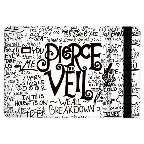 Pierce The Veil Music Band Group Fabric Art Cloth Poster iPad Air 2 Flip
