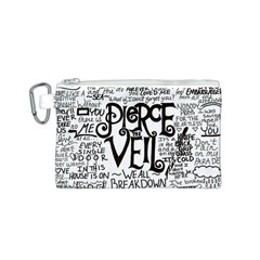 Pierce The Veil Music Band Group Fabric Art Cloth Poster Canvas Cosmetic Bag (S)
