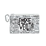 Pierce The Veil Music Band Group Fabric Art Cloth Poster Canvas Cosmetic Bag (S) Front