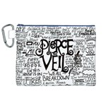 Pierce The Veil Music Band Group Fabric Art Cloth Poster Canvas Cosmetic Bag (XL) Front