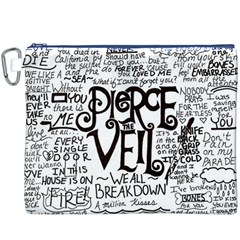 Pierce The Veil Music Band Group Fabric Art Cloth Poster Canvas Cosmetic Bag (XXXL)