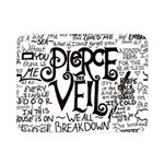Pierce The Veil Music Band Group Fabric Art Cloth Poster Double Sided Flano Blanket (Mini)  35 x27 Blanket Back