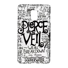 Pierce The Veil Music Band Group Fabric Art Cloth Poster Galaxy Note Edge