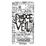 Pierce The Veil Music Band Group Fabric Art Cloth Poster Galaxy Note 4 Back Case Front