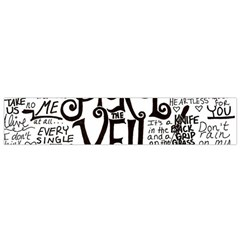 Pierce The Veil Music Band Group Fabric Art Cloth Poster Flano Scarf (Small)