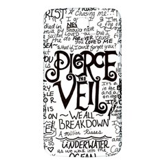 Pierce The Veil Music Band Group Fabric Art Cloth Poster Samsung Galaxy Mega I9200 Hardshell Back Case