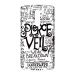 Pierce The Veil Music Band Group Fabric Art Cloth Poster LG G3 Back Case Front