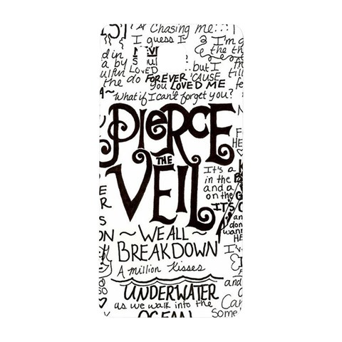Pierce The Veil Music Band Group Fabric Art Cloth Poster Samsung Galaxy Alpha Hardshell Back Case