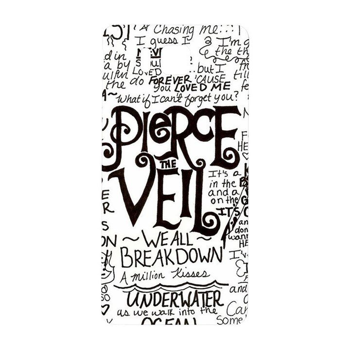 Pierce The Veil Music Band Group Fabric Art Cloth Poster Samsung Galaxy Alpha Hardshell Back Case