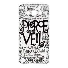 Pierce The Veil Music Band Group Fabric Art Cloth Poster Samsung Galaxy A5 Hardshell Case