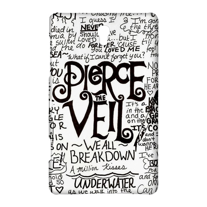 Pierce The Veil Music Band Group Fabric Art Cloth Poster Samsung Galaxy Tab S (8.4 ) Hardshell Case