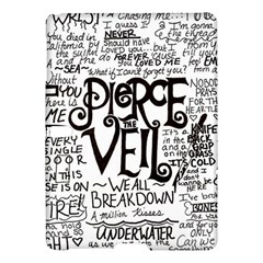 Pierce The Veil Music Band Group Fabric Art Cloth Poster Samsung Galaxy Tab S (10 5 ) Hardshell Case