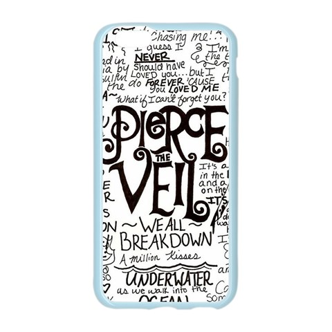 Pierce The Veil Music Band Group Fabric Art Cloth Poster Apple Seamless iPhone 6/6S Case (Color)