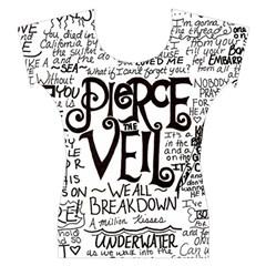 Pierce The Veil Music Band Group Fabric Art Cloth Poster Women s Cap Sleeve Top