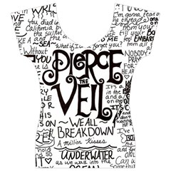 Pierce The Veil Music Band Group Fabric Art Cloth Poster Women s V-Neck Cap Sleeve Top