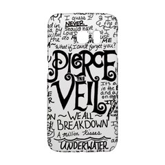 Pierce The Veil Music Band Group Fabric Art Cloth Poster Galaxy S6 Edge