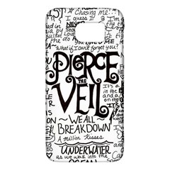 Pierce The Veil Music Band Group Fabric Art Cloth Poster Galaxy S6
