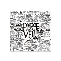 Pierce The Veil Music Band Group Fabric Art Cloth Poster Satin Bandana Scarf