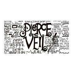 Pierce The Veil Music Band Group Fabric Art Cloth Poster Satin Wrap