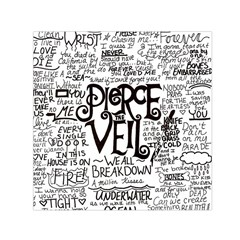 Pierce The Veil Music Band Group Fabric Art Cloth Poster Small Satin Scarf (Square)