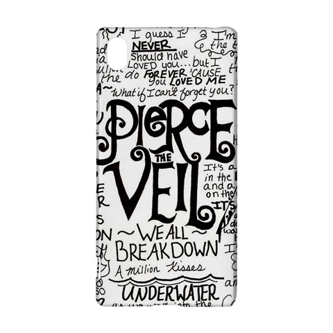 Pierce The Veil Music Band Group Fabric Art Cloth Poster Sony Xperia Z3+