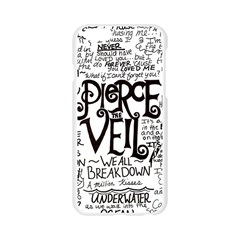 Pierce The Veil Music Band Group Fabric Art Cloth Poster Apple Seamless iPhone 6/6S Case (Transparent)