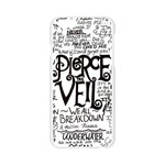 Pierce The Veil Music Band Group Fabric Art Cloth Poster Apple Seamless iPhone 6/6S Case (Transparent) Front